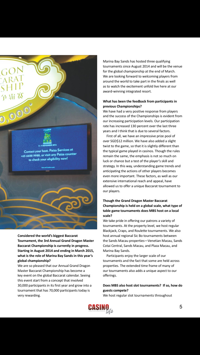 Casino Life Magazine screenshot 3