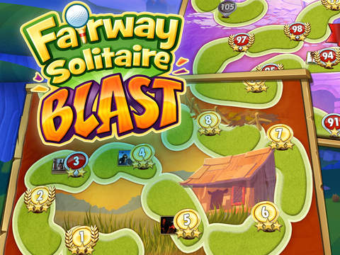 Fairway Solitaire Blast screenshot #5