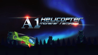 A1 Helicopter Monster Rampage - cool airplane shooting mission game screenshot 1