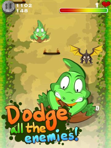 Dino Slide HD screenshot 2