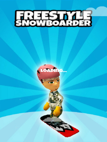 A Freestyle Snowboarder: Extreme 3D Snowboarding Game - FREE Edition screenshot 10