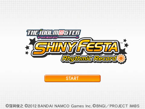 THE iDOLM@STER SHINY FESTA Rhythmic Record screenshot 6