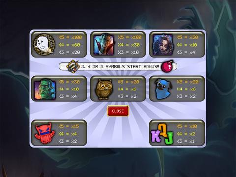 Ghost Hunters Slot screenshot 6