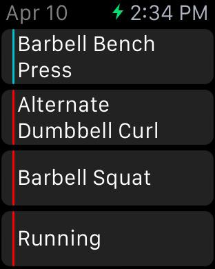 Fitlist - Gym Workout Log screenshot 6