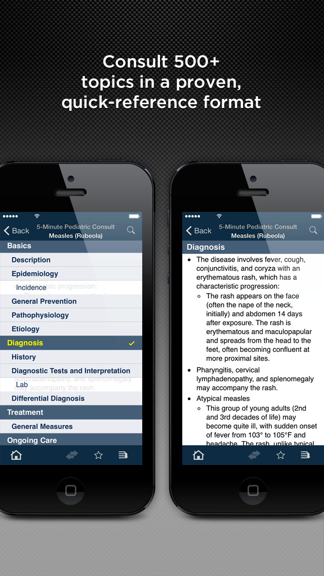 The 5-Minute Pediatric Consult screenshot 2