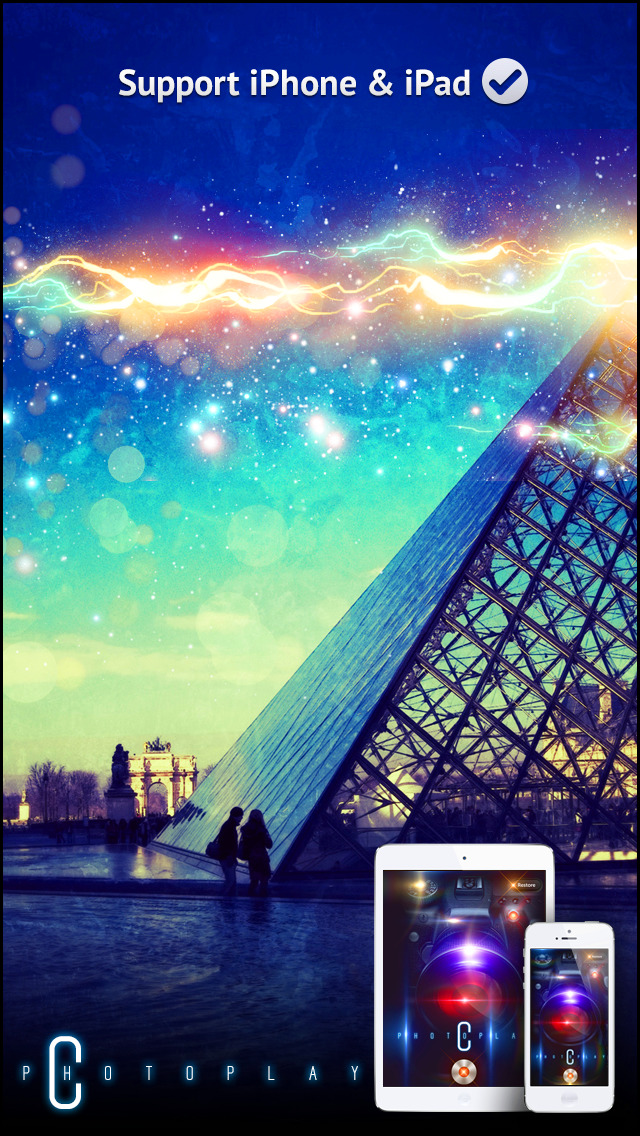 Awesome Light Camera FX Plus - The ultimate photo editor plus art image effects & filters screenshot 1