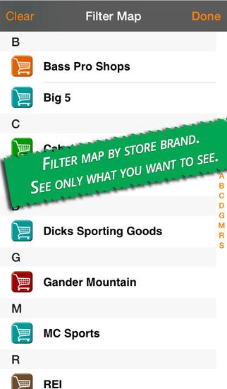 Finding Outdoors Stores screenshot 3