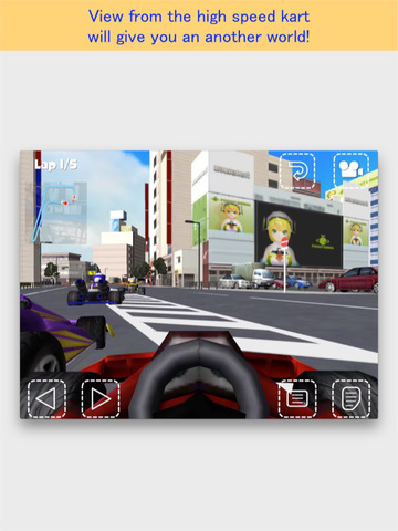 Akiba Kart Racing FREE screenshot 8