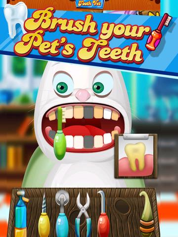 ' A Baby Puppy Pet Tooth Vet- Farm Animal Dentist Game screenshot 8