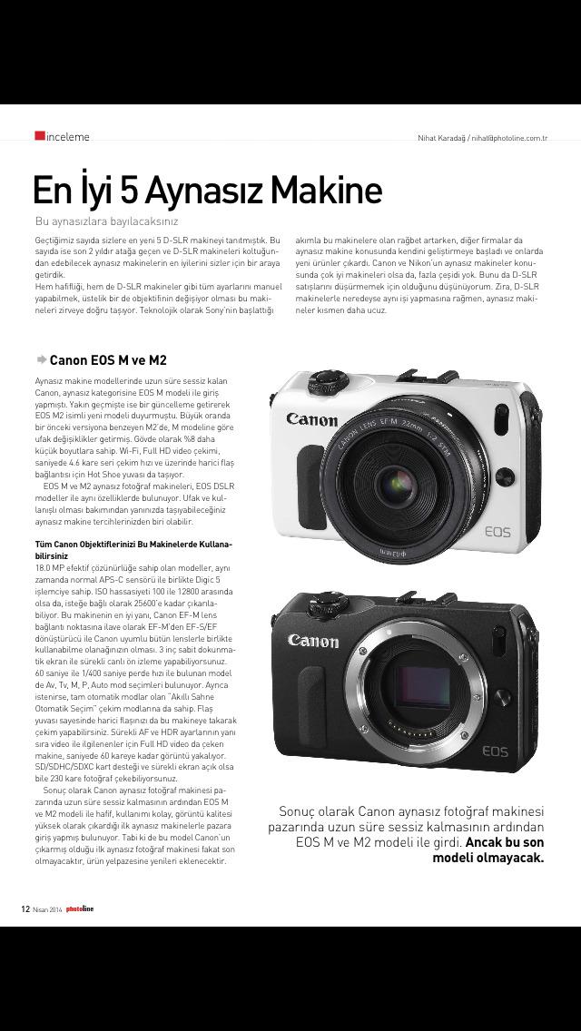PhotoLine Magazine screenshot 2