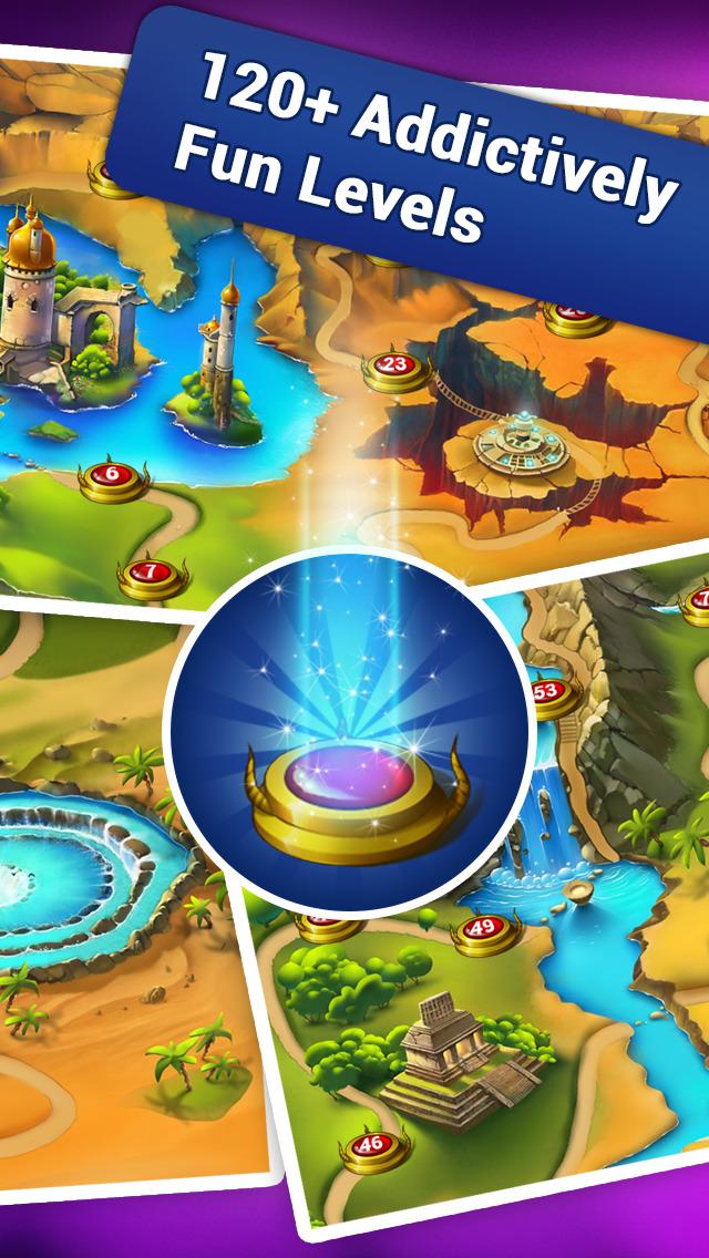 Lost Jewels - Match 3 Puzzle screenshot 2