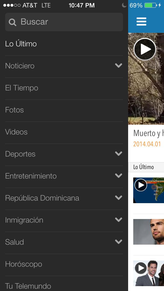 Telemundo 47 screenshot 3