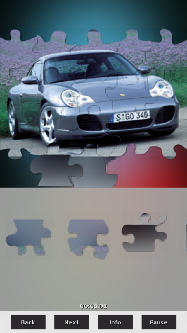 Cars Puzzles+ screenshot 1