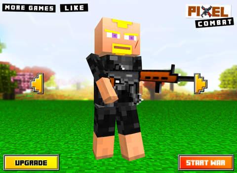 Pixel Combat : 3D Block Wars screenshot 6