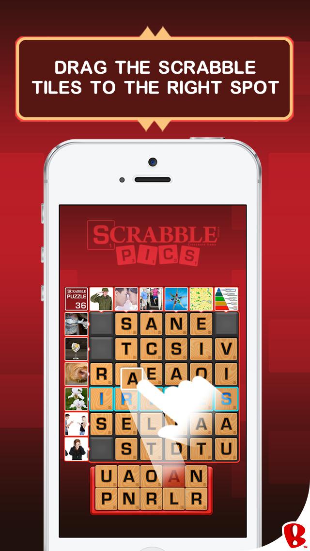 SCRABBLE Pics screenshot 3