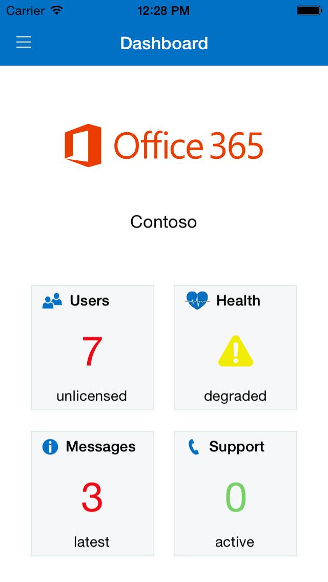 Microsoft 365 Admin screenshot #1