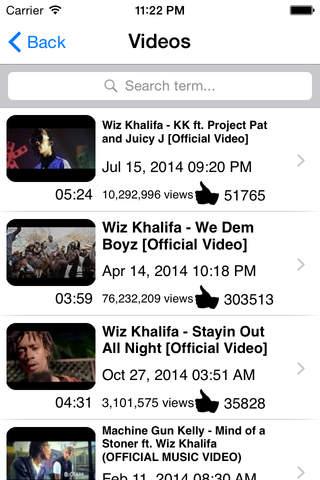 Wiz Khalifa Fans App Edition - náhled