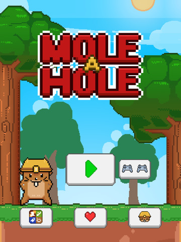 ``Action Mole a Hole FREE GAME screenshot 10