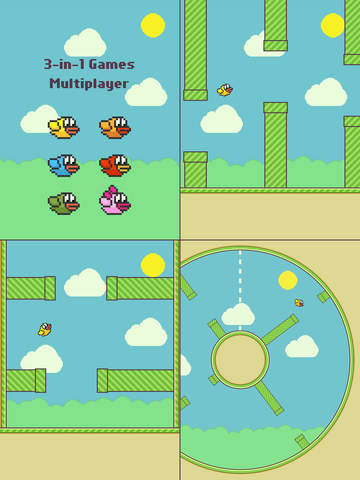 Flappy Family Bird Arcade screenshot 6