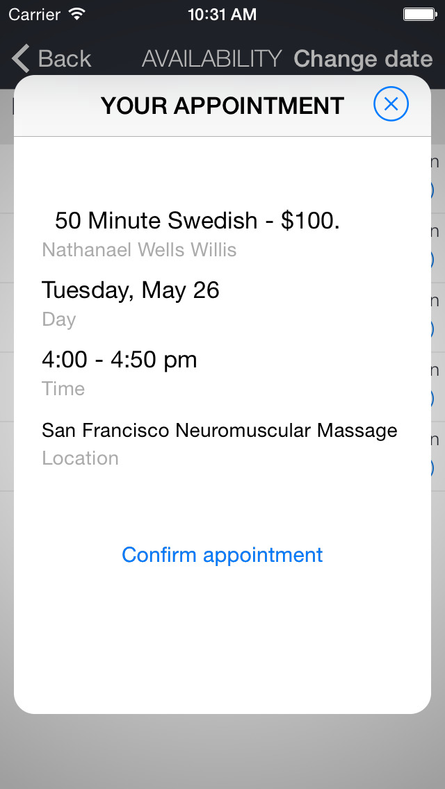 SF Neuromuscular Massage screenshot 3