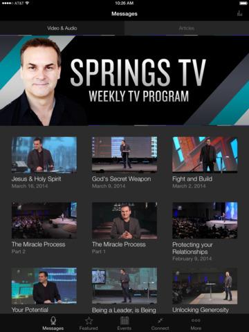 Springs App screenshot 4