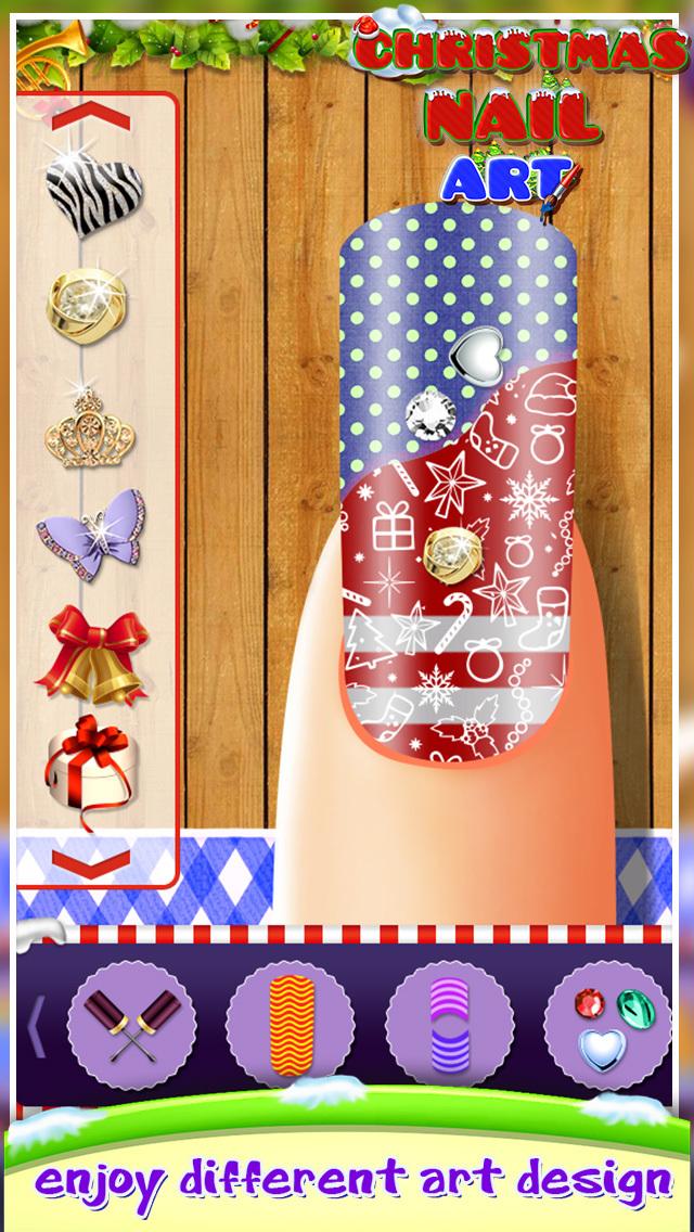 Christmas Nail Art screenshot 1