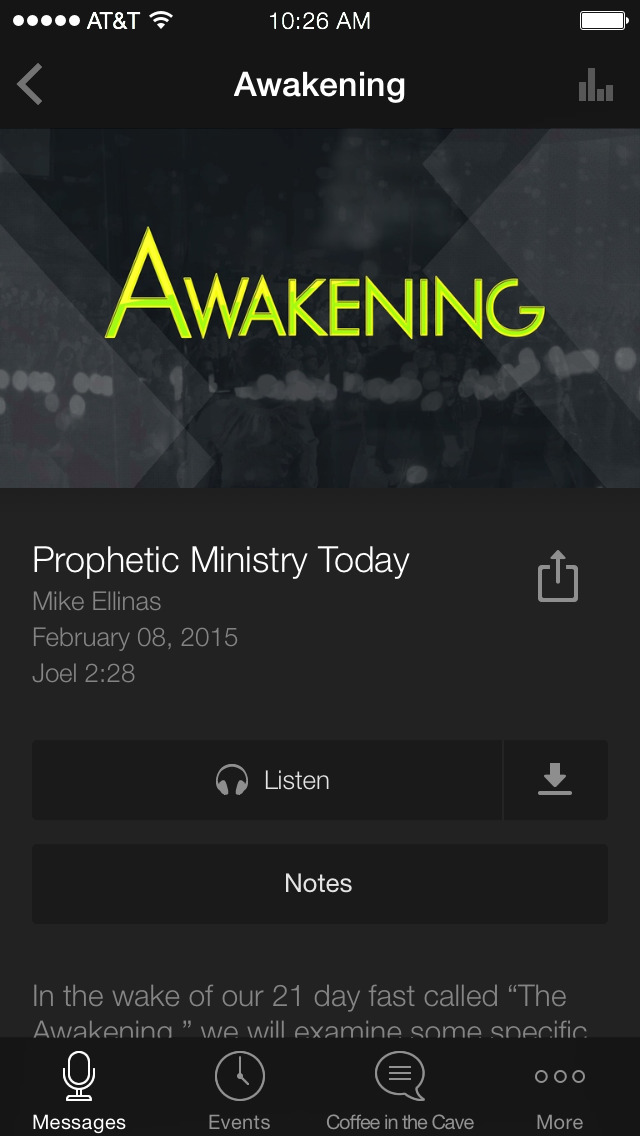 Connection Church App screenshot 3