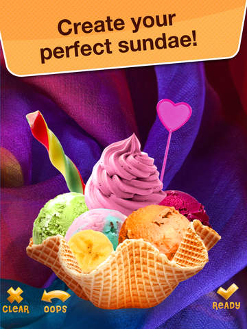 Sundae for Messenger - Make Yummy Desserts with Ice Cream Maker Game screenshot 6