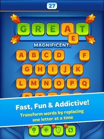 Word Morph! - Endless Word Puzzle Game screenshot 6