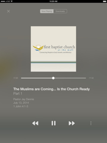 Church At The Mall App screenshot 5