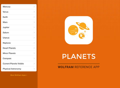 Wolfram Planets Reference App screenshot 6