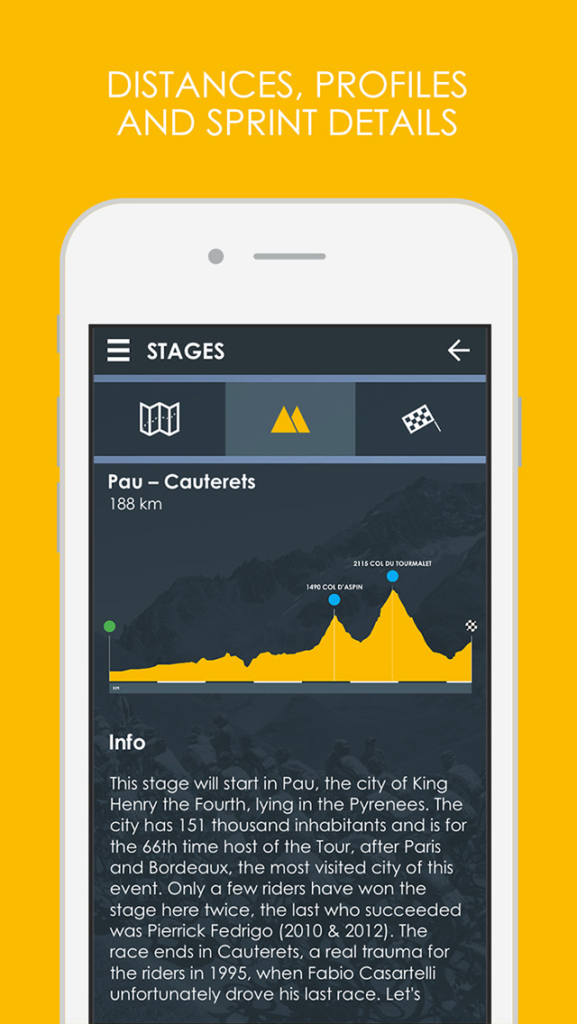 Cycling App - 2016 Live edition Free screenshot 3