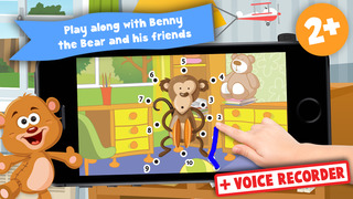 Kids Toys Puzzle Teach me Tracing and Counting - Learn about teddy bears and dolls for boys and girls screenshot 1