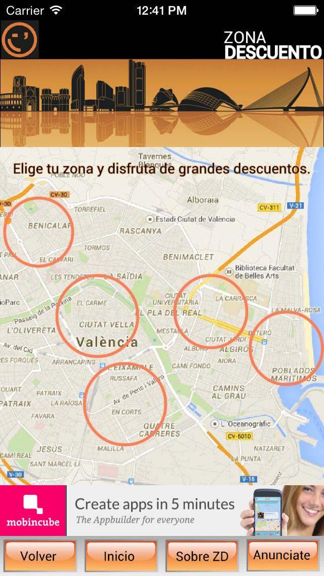 Zona Descuento Valencia - descubre los mejores planes screenshot 1