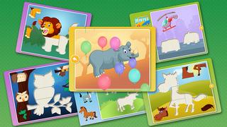 Kids Animal games-SmartPuzzles screenshot 2