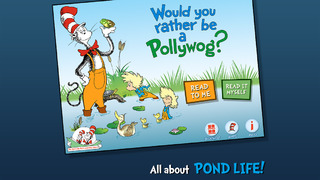 Would You Rather Be a Pollywog? (Dr. Seuss/Cat in the Hat) screenshot 1