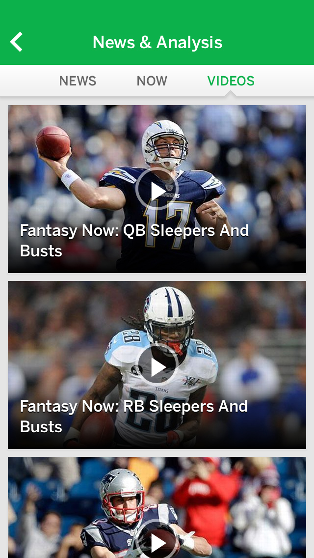 ESPN Fantasy Sports screenshot 2