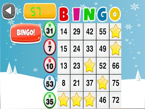 Bingo Christmas Game screenshot 6