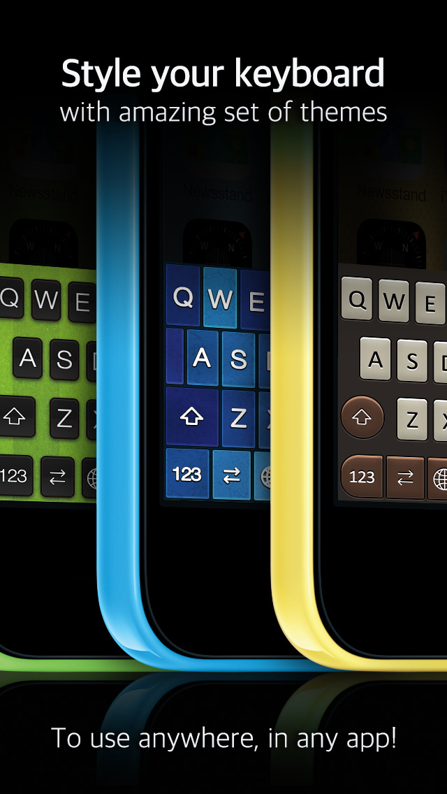 KeyThemes - Themed Keyboards screenshot 2