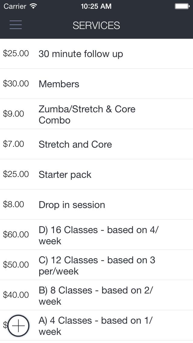 FORMA - Schedule, book, buy screenshot 2