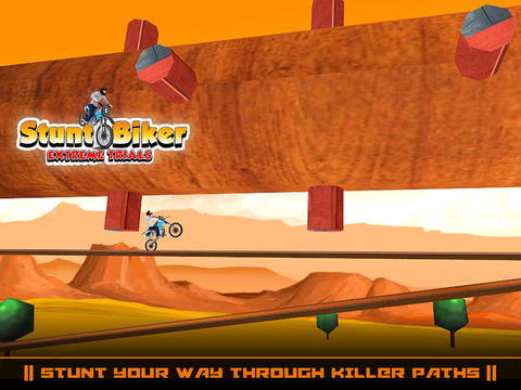 Stunt Biker Extreme Trials screenshot 9