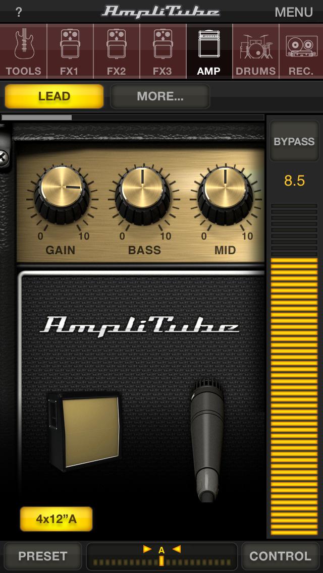 AmpliTube LE screenshot 1