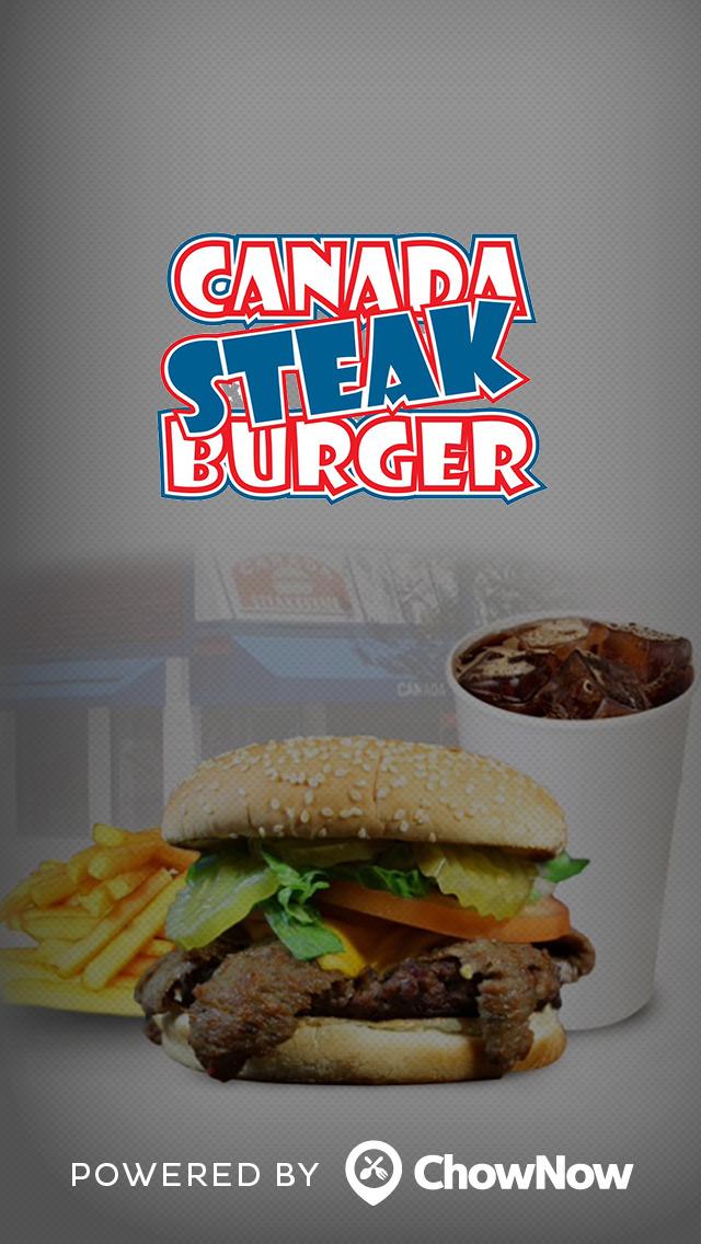 Canada Steak Burger screenshot 1
