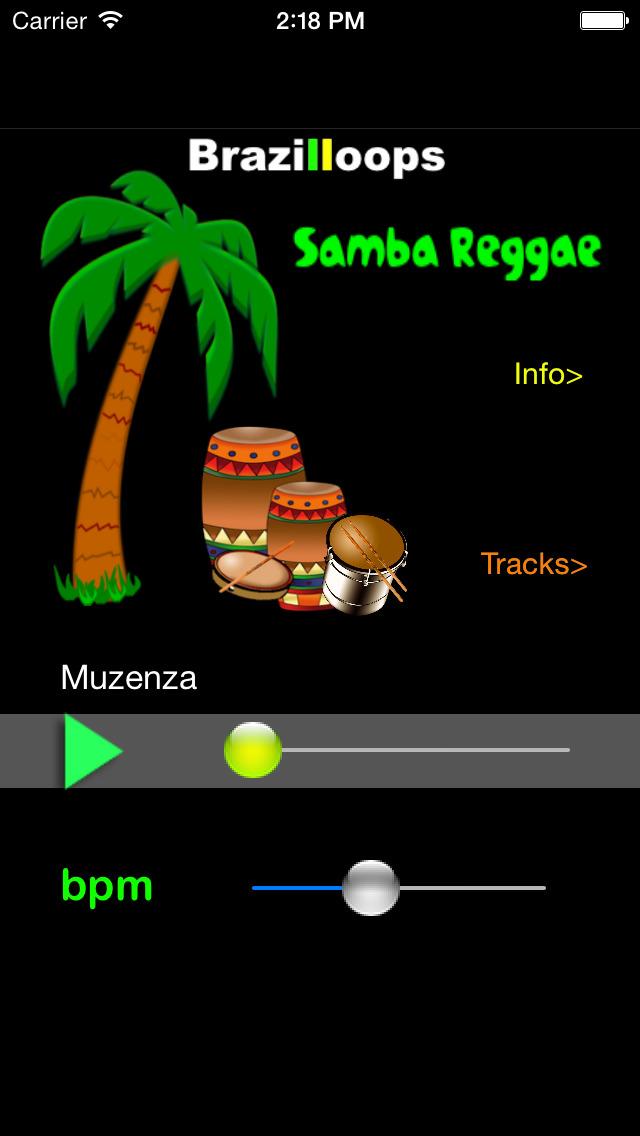 Brazilloops Samba Reggae screenshot 1