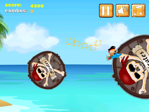 A Pirate Jumping Diamond Chase screenshot 9