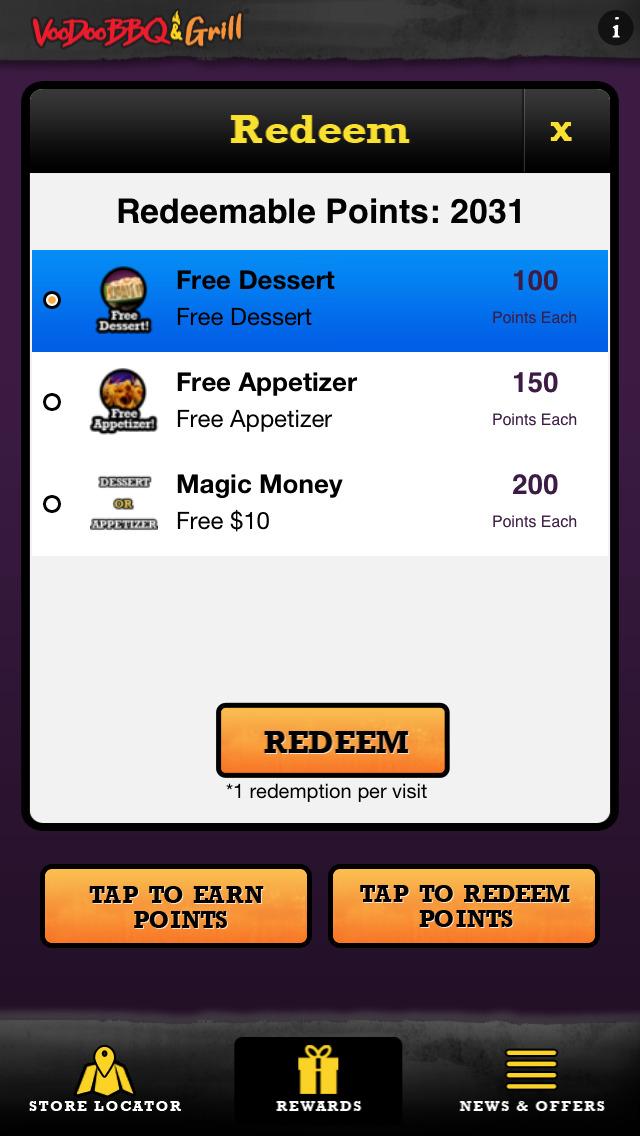 Voodoo BBQ & Grill screenshot 3