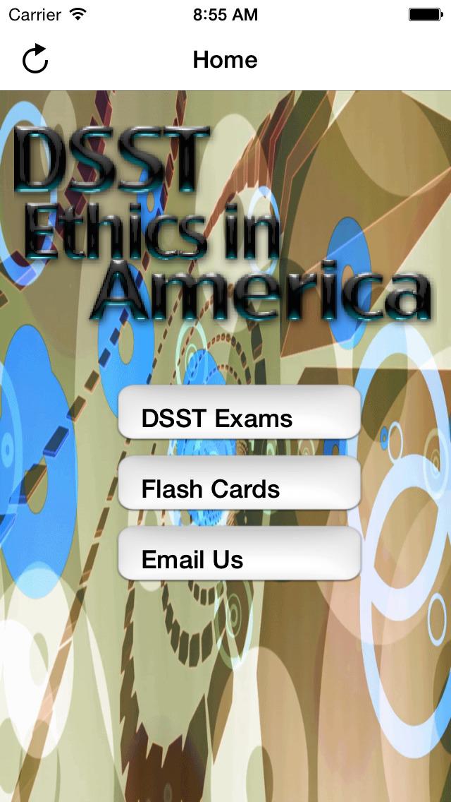 DSST Ethics America Buddy screenshot 1