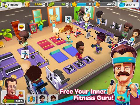 Dream Gym – Build Your Own Fitness Empire! screenshot #2