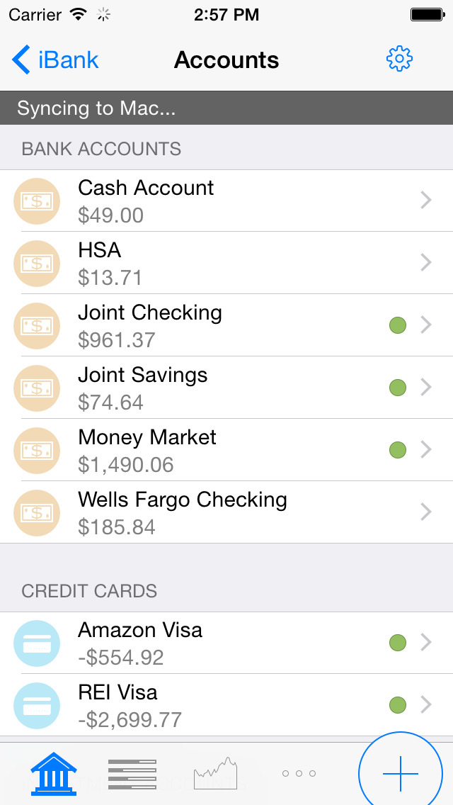 Banktivity for iPhone - Personal Finance screenshot 2