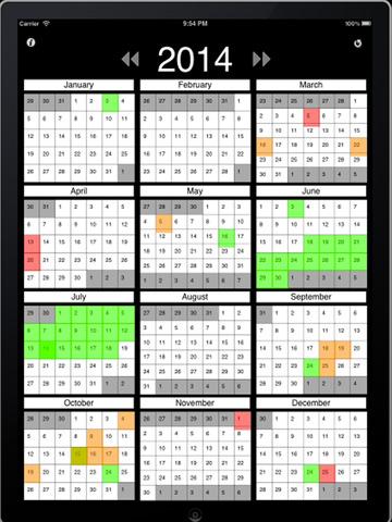 Ultimate Calendar with World Holidays screenshot 3